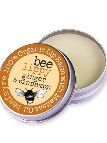 Organic Lip Balm - Ginger & Cinnamon-0