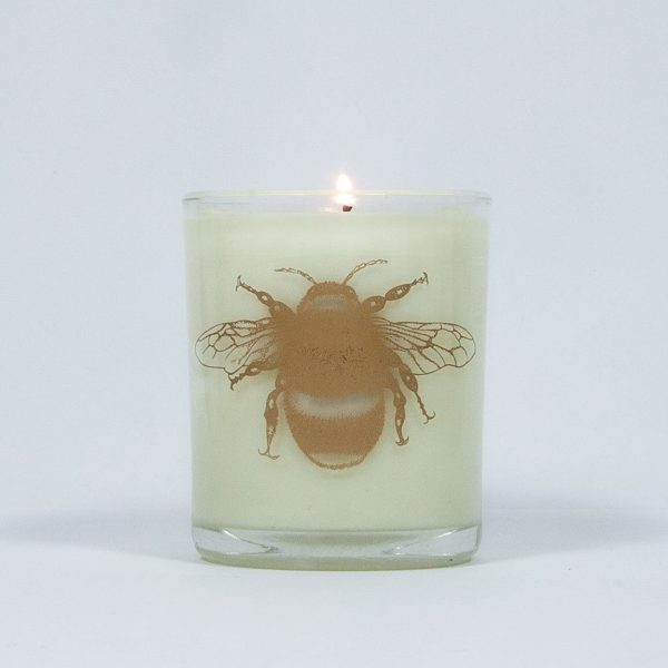 Bee Free Bluebell Large Candle-7981
