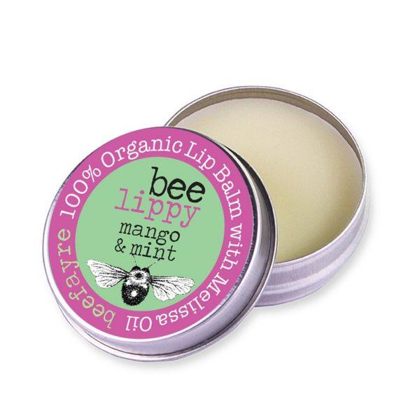 Organic Lip Balm - Mango & Mint-0