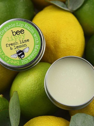 Organic Lip Balm - Fresh Lime & Lemon-0