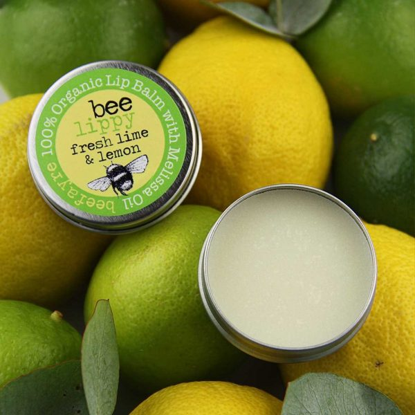 Organic Lip Balm - Fresh Lime & Lemon-0