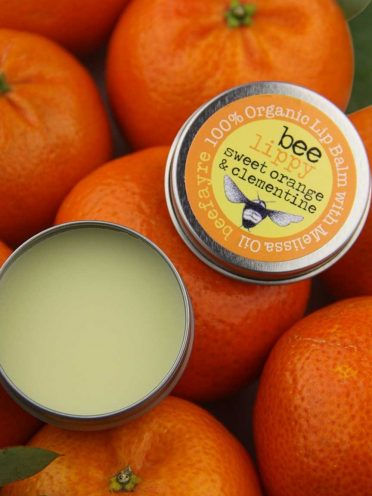 Organic Lip Balm - Sweet Orange & Clementine-0