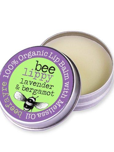 Organic Lip Balm - Lavender & Bergamot-0