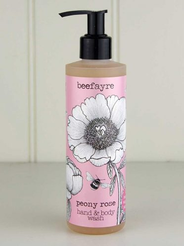 Bee Loved Peony Rose Hand & Body Wash (Pack of 6)-0