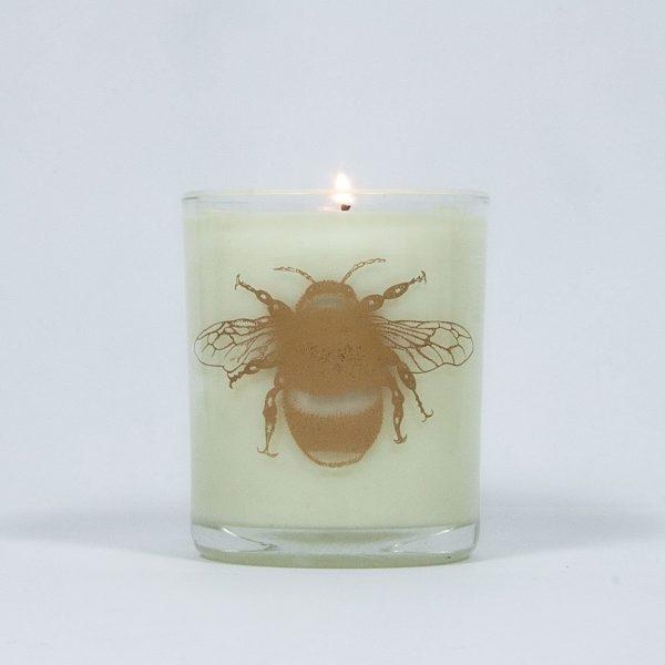 Bee Calm Lavender & Geranium Large Candle-8004