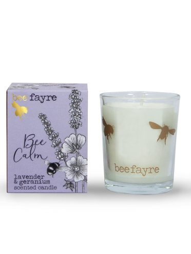 Bee Calm Lavender & Geranium Votive -0