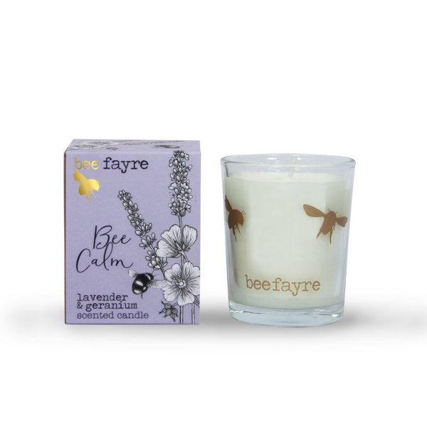 Bee Calm Lavender & Geranium Votive -0