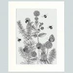 Watermint & Rosemary Print (Cream)-0